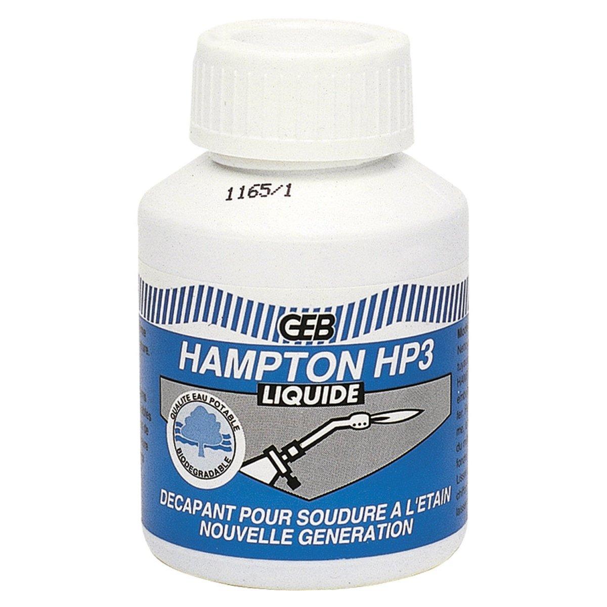 GEB 102301 Hampton HP3 pour souder cuivre/alliages Liquide 80 ml 60669