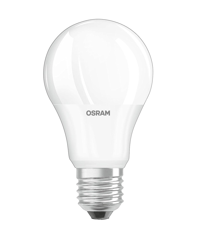 Osram LED Base Classic A Lampe, in Kolbenform mit E27-Sockel, nicht dimmbar, Ersetzt 60 Watt, Matt, Warmweiß - 2700 Kelvin, 3er-Pack Ledvance 4052899955493