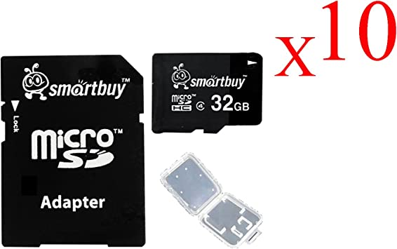 Smartbuy 4GB MicroSDHC Class 4 TF Memory Card For Mobile Phone Camera GPS TV MP3