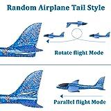 WATINC 6 pcs Airplane 14.5inch Manual Foam Flying