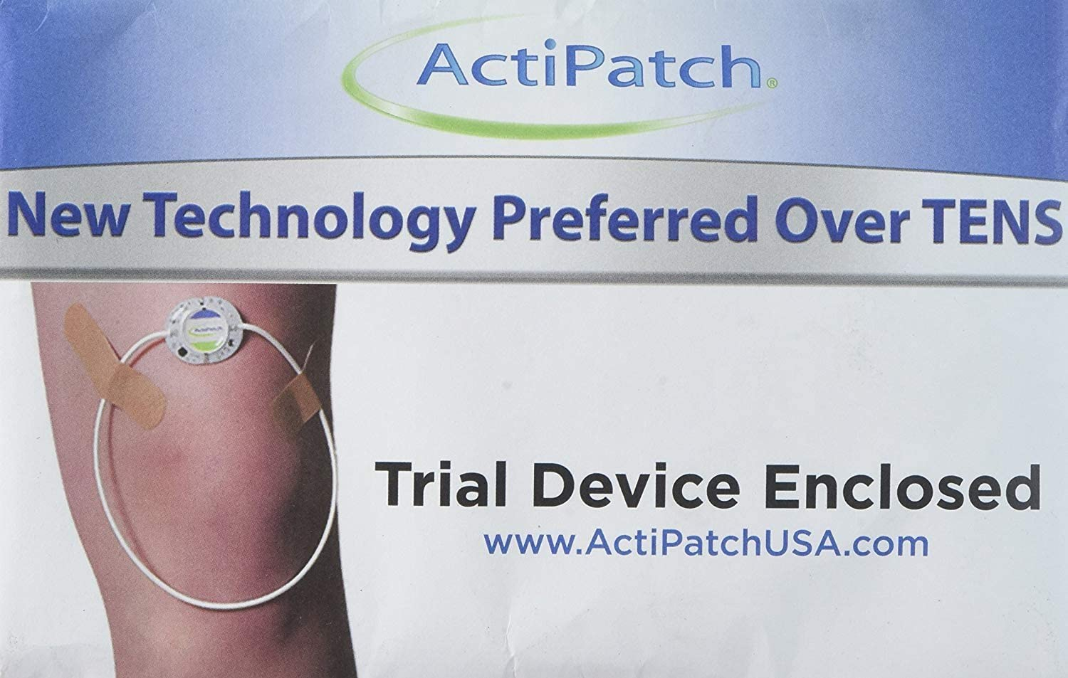 ActiPatch Advanced 24-Hour Pain Relief Device   Drug-Free, Sensation-Free   7-Day Trial (Cannot Be Turned Off)