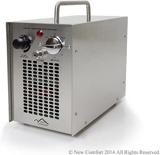 New Comfort Purificador del Aire y del Agua de ozono de H2O Blanco ...
