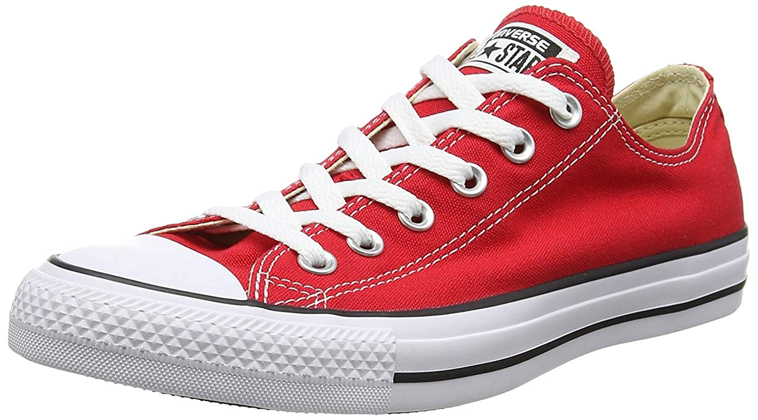 Converse Herren Turnschuhe Chuck Taylor All Star Low Top MultiFarbe Mehrfarbig CT OX Periwinkle  148845F Canvas