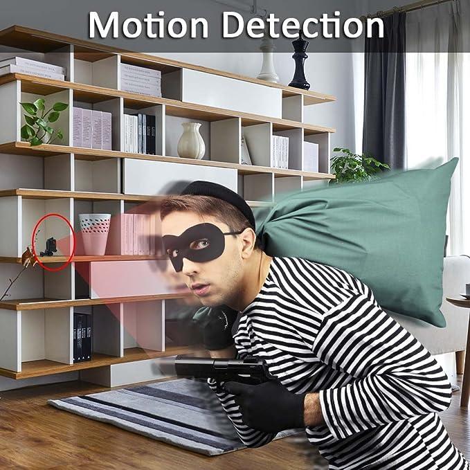 Cámara Espía Oculta 8GB TANGMI 1080P HD Cámara de Deportes Detección de Movimiento Videocámara Portátil de Seguridad Mini Grabadora de Video Grabación y ...