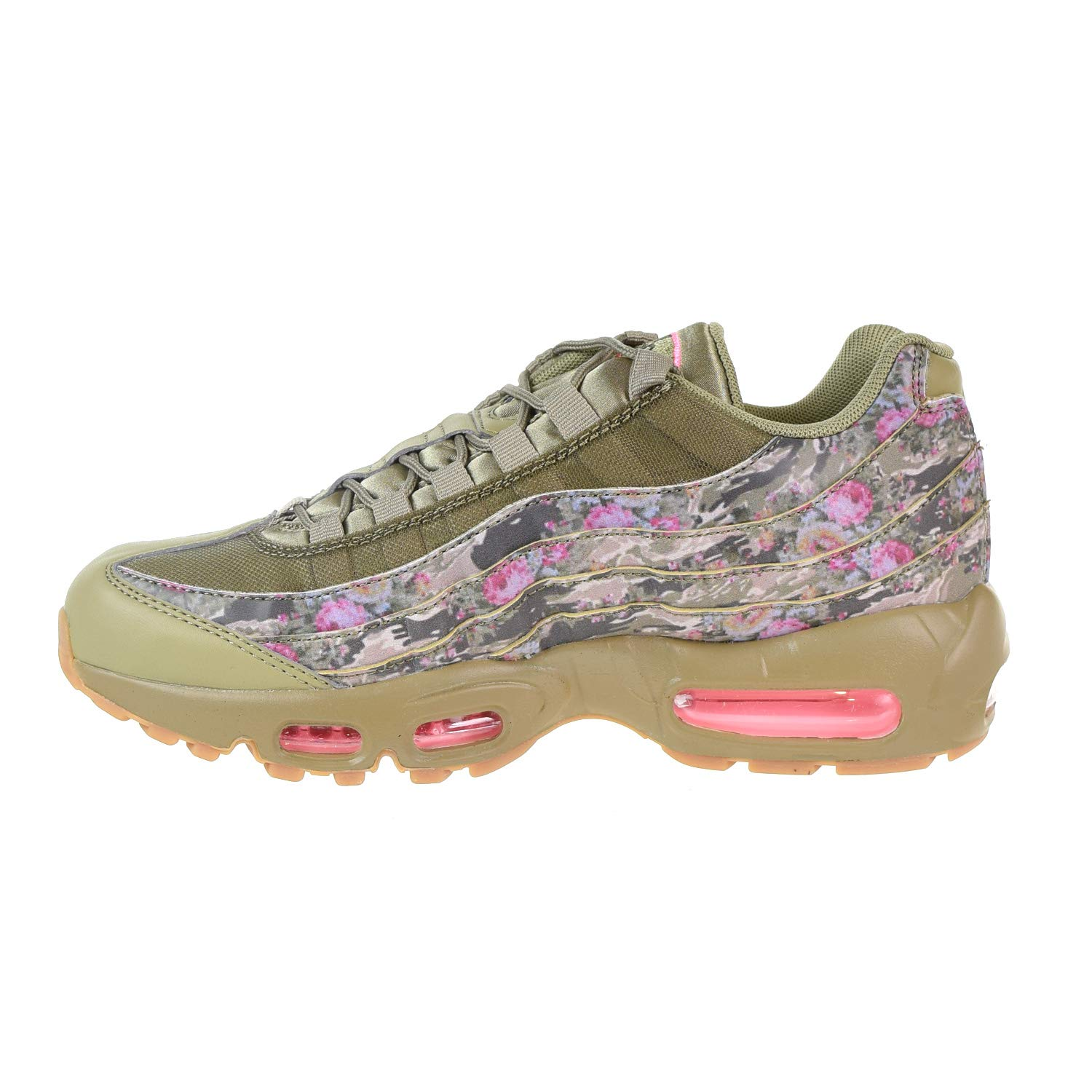 f2e5a7c426 Amazon.com | Nike Air Max 95 Women's Shoes Neutral Olive/Arctic Punch  aq6385-200 (9.5 B(M) US) | Running
