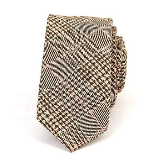 Oudan 6 cm Slim Cut Personality Binder Clásico Auto Corbata Hombre ...