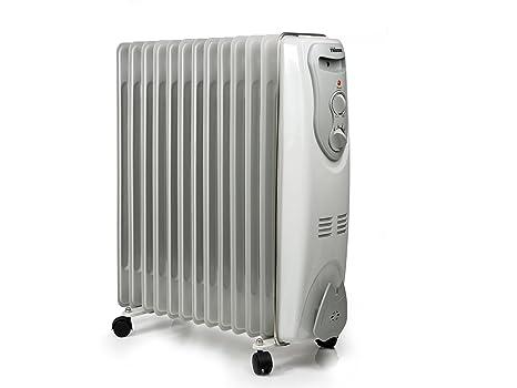 Tristar KA-5112 - Radiador de aceite para baño (con ruedas, 13 elementos