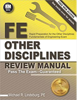 Fundamentals of engineering review a complete review of all of the fe other disciplines review manual fandeluxe Choice Image