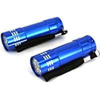 Dorcy D3245 2 Pack 9 LED Combo Pack, Small, Blue