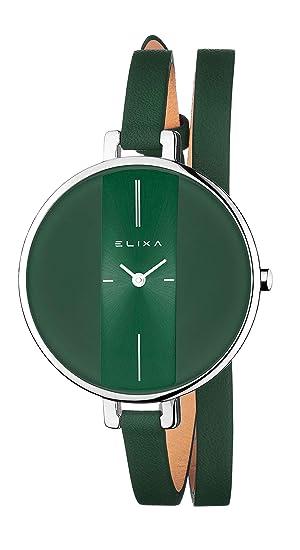 Elixa Finesse Reloj para Mujer: Amazon.es: Relojes