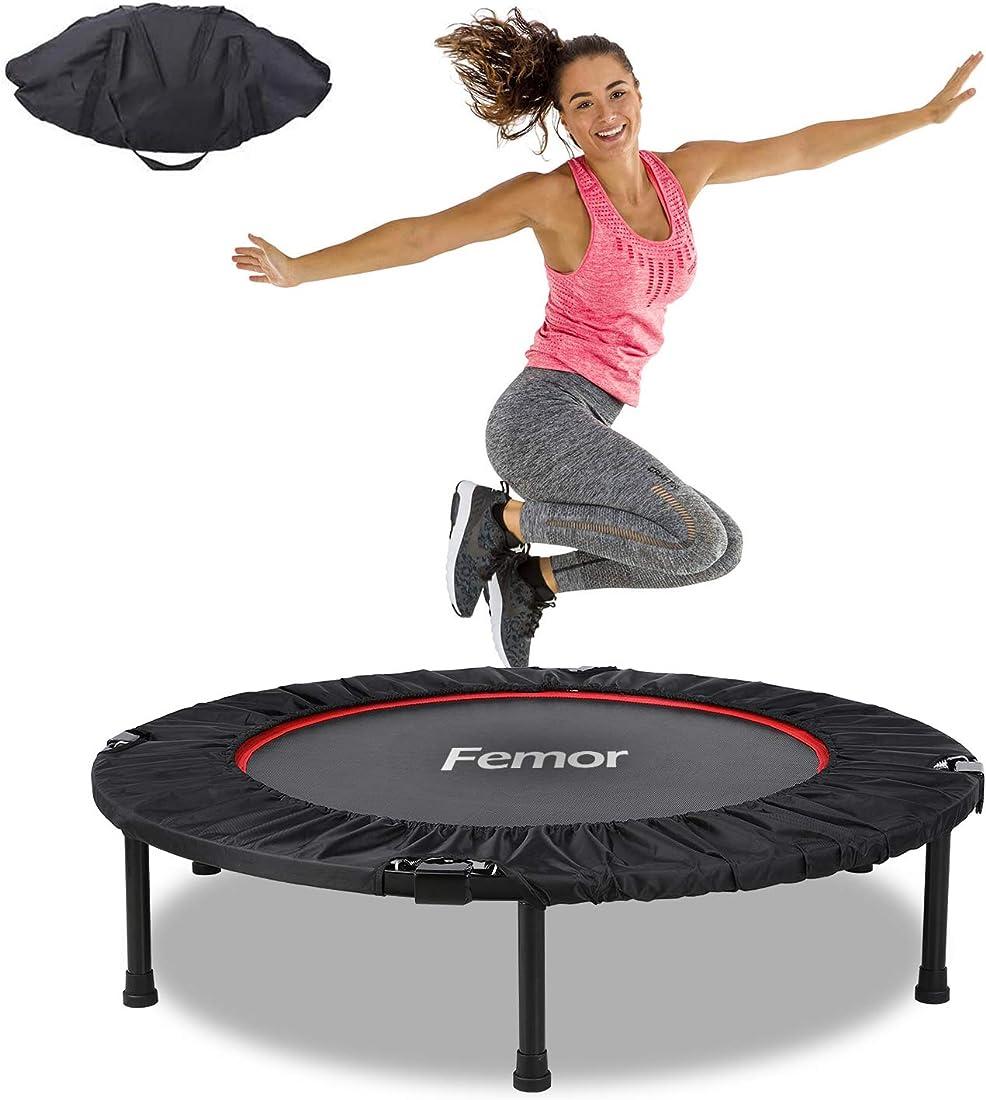 Femor trampolino elastico, Ø102/Ø101,6/ Ø127 cm trampolino fitness pieghevole B08DJ5R1HF