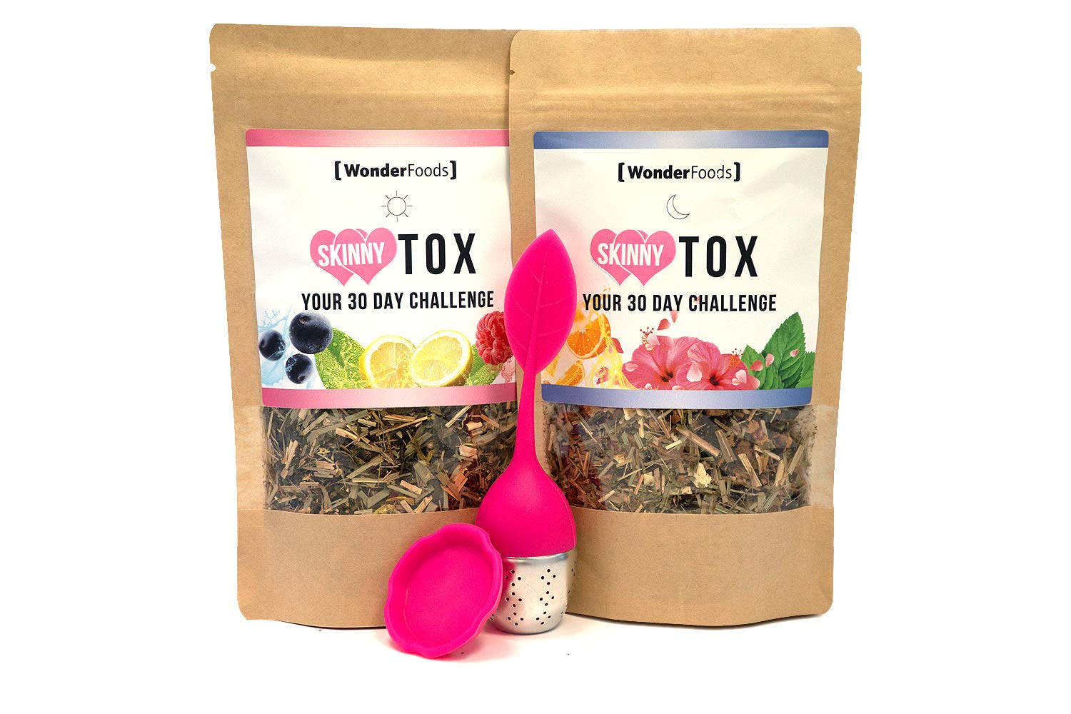 Skinnytox Day + Night Set | Té Desintoxicante | 2x 82g Té ...