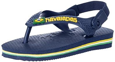c8687ddfd Havaianas Baby Brazil Logo Sandal Green Flip Flop with Backstrap ...