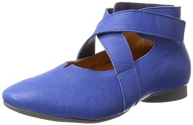 Womens Guad Closed Toe Ballet Flats Think V72rH3