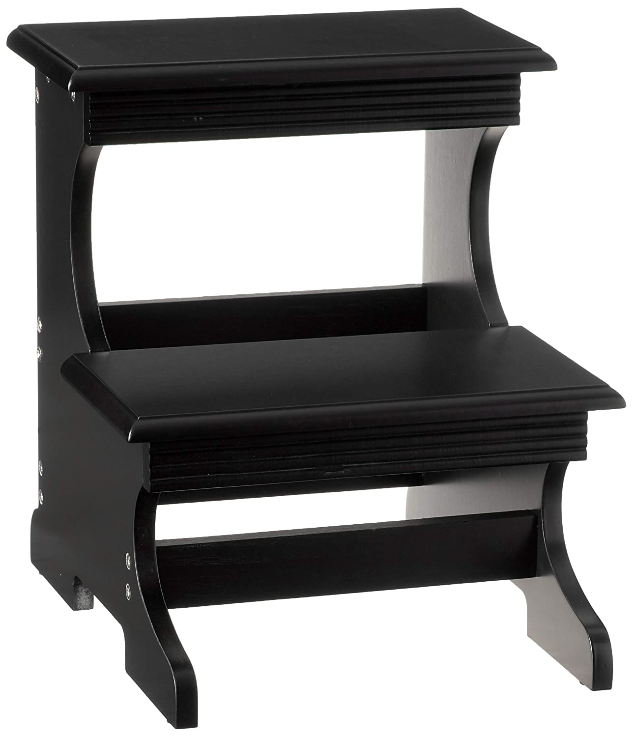 Frenchi Home Furnishing Step Stool, Black