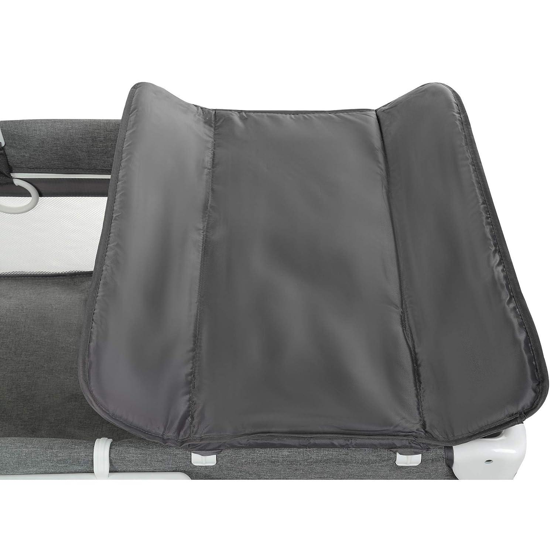 ab Geburt bis 25 kg mit Rollen premium qualit/ät zusammenklappbar Baby Laufstall grau Aluminium 120 x 60 cm tragbar Fjessa Royal Baby Kinderreisebett Kinderbett Klappbett Babybett