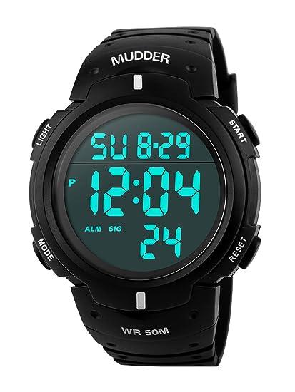 42a6d287abc7 Mudder Reloj Deportivo Digital para Hombre