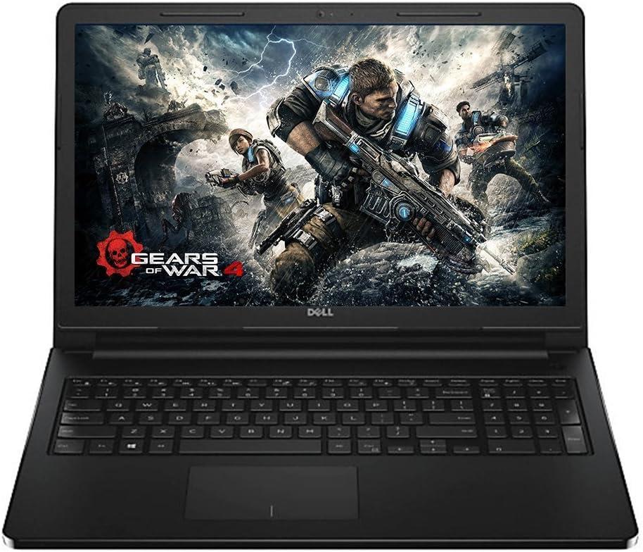 2016 Summer Dell Inspiron Laptop (15.6 HD Truelife 1366 x 768 LED-Backlit Display, AMD A8 Quad-Core, Radeon R5 Graphics, 6GB RAM, 500 GB Hard Drive, Win 10 Black Notebook)
