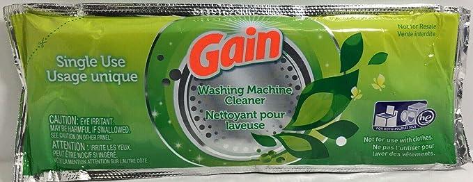 Gain Limpiador de lavadora, 8 unidades: Amazon.es: Salud y cuidado ...