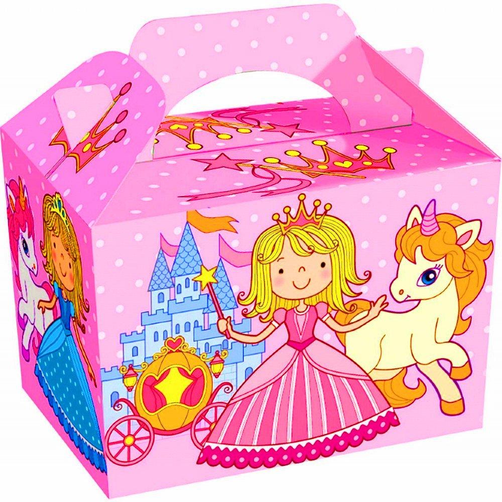 German Trendseller® 12 x cajitas princesa de cumpleaños ...