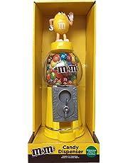 M&M's - Distributeur tirelire de bonbons au chocolat - 22,9cm- Jaune