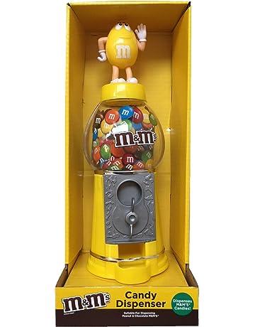 M&Ms - Dispensador de chocolate y caramelo, color amarillo, ...