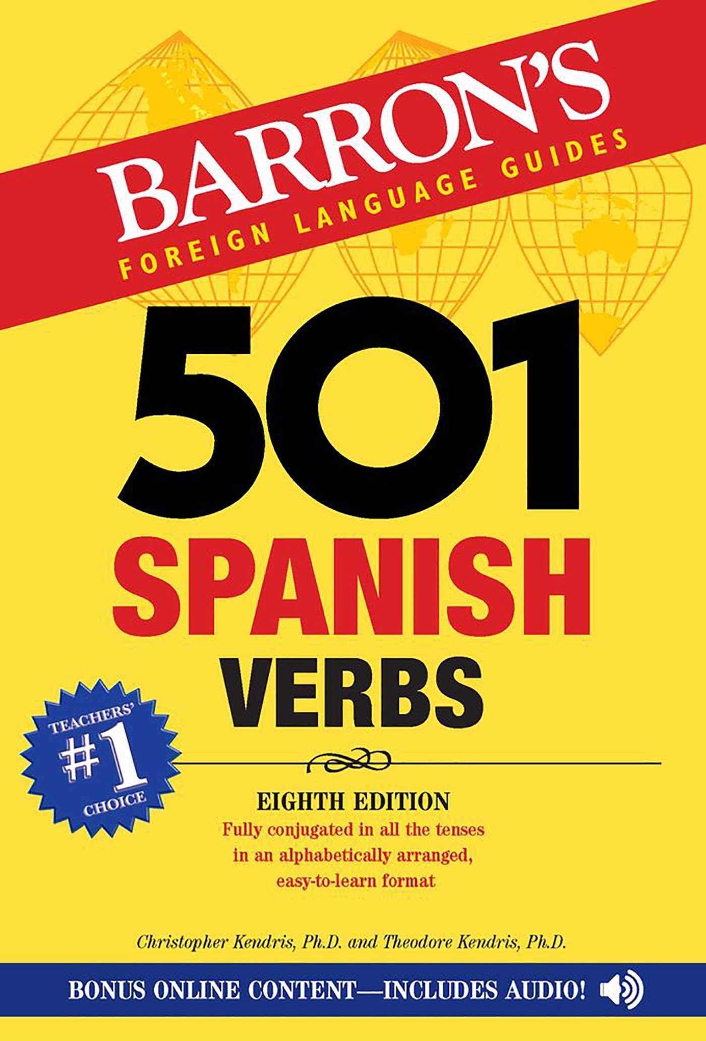 501 Spanish Verbs (Barron's foreign language verbs) (Inglés) Tapa blanda – 1 jun 2017 Christopher Kendris Theodore Kendris Barrons Educational Serie 143800916X