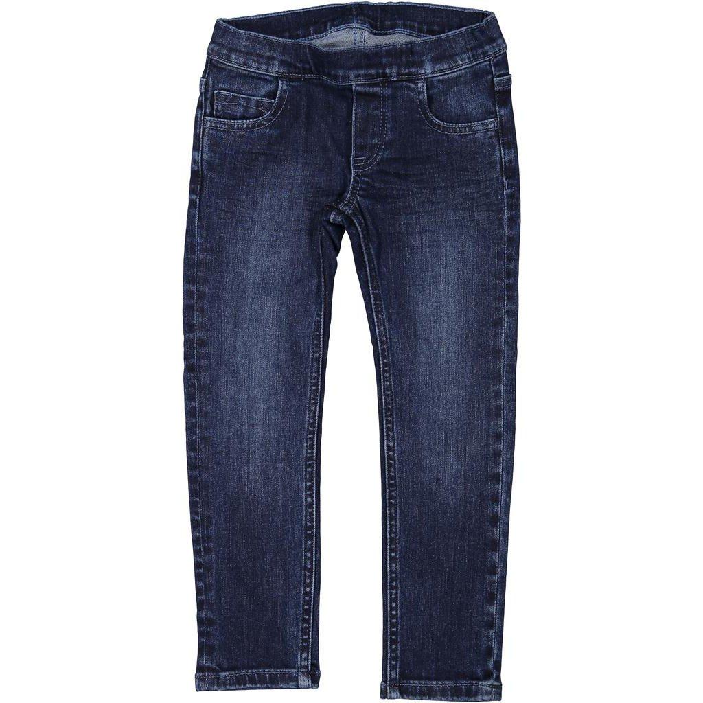 Polarn O. Pyret 5 Pocket Jeggings (2-6YRS) - 4-5 Years/Blue Denim