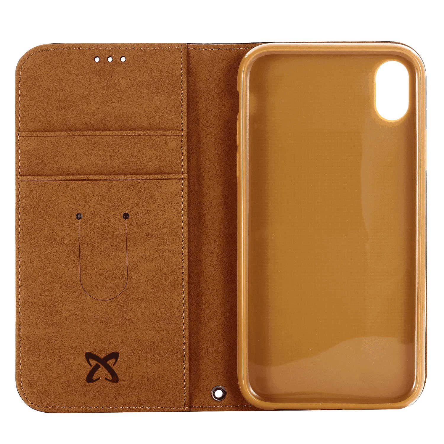 Leather Flip Case for iPhone 11 Pro with Waterproof Pouch for Smart Phone Business Wallet Cover Compatible with iPhone 11 Pro