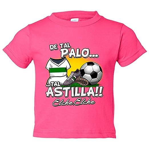 Camiseta niño de tal palo tal astilla Elche fútbol - Blanco ...