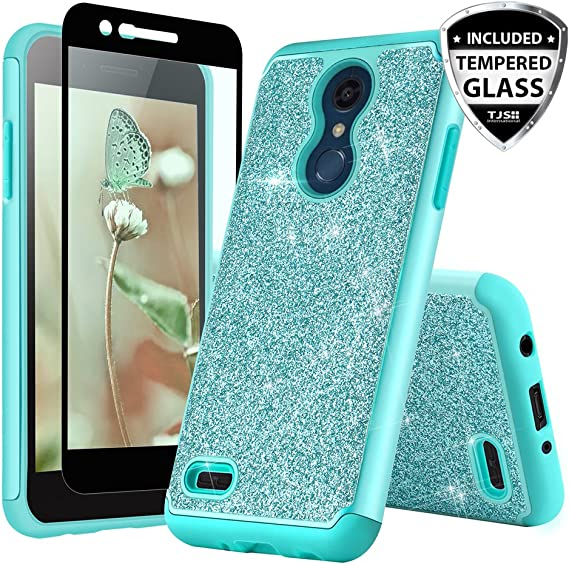 TJS Phone Case for LG K10 2018/K30/Premier Pro LTE/Harmony 2/Phoenix Plus/Xpression Plus