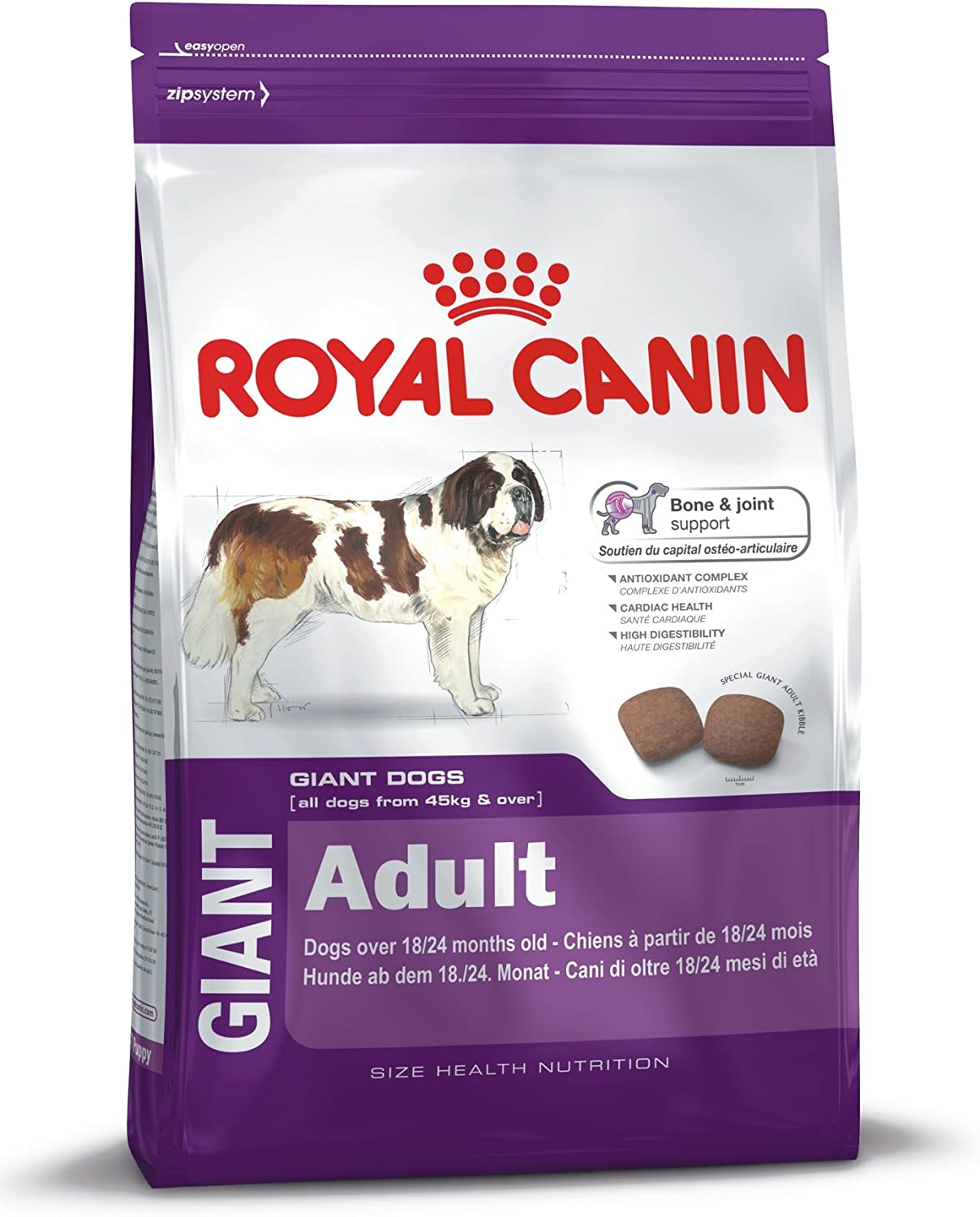 Royal Canin C-08522 S.N. Giant Adult - 15 Kg