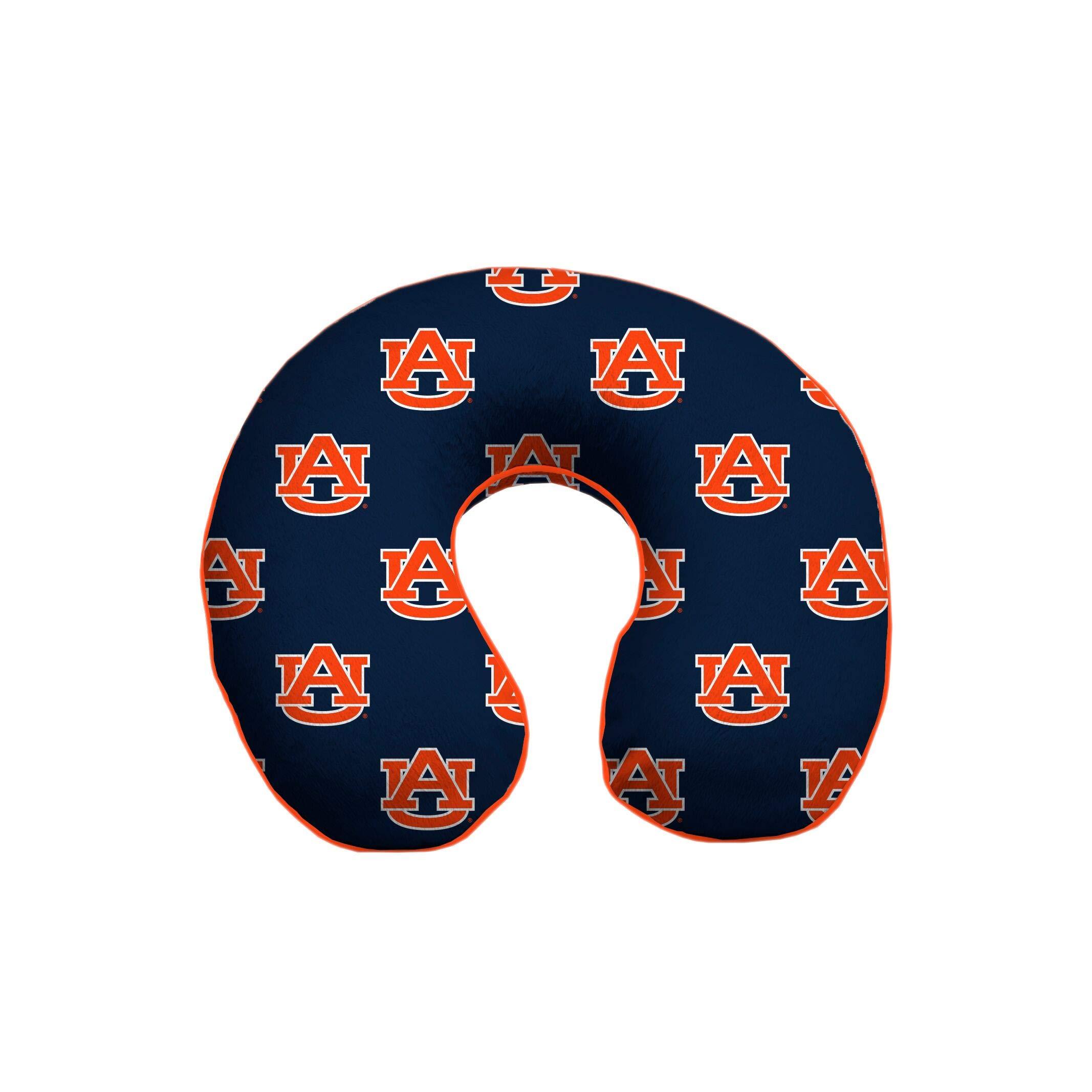 NCAA Auburn Tigers NCAA Memory Foam Travel Pillow by Pegasus Sports