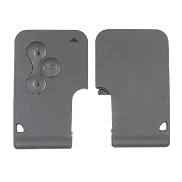 3 Botón mando a distancia de tarjeta inteligente clave caso ...
