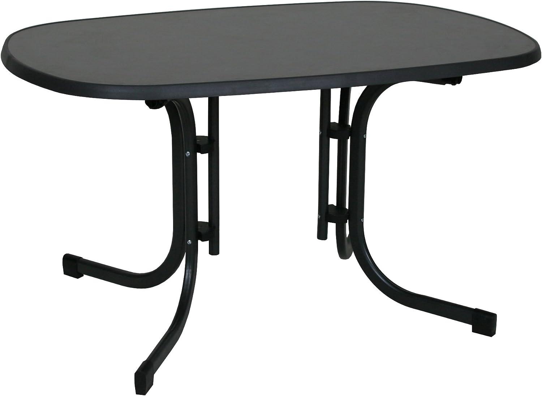 Mesa plegable para jardín y terraza con unas medidas de 140 x 90 x ...