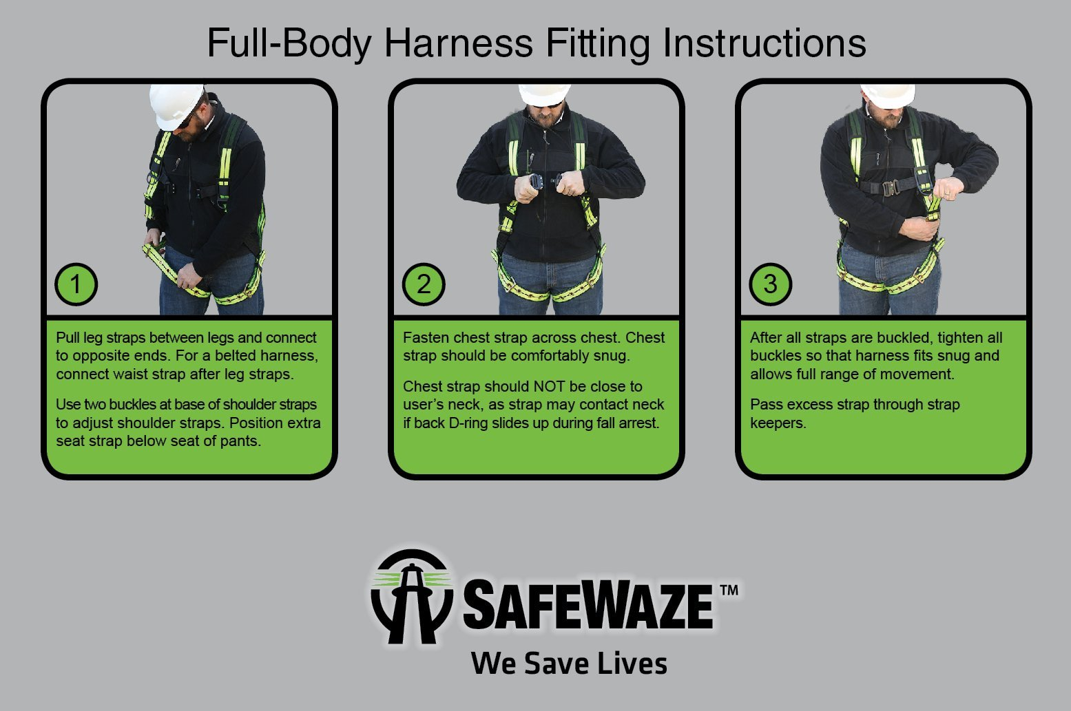 SafeWaze V-LINE Fall Protection Roofing Kit in a Bucket, Includes Safety Harness with Waist Belt, Rope with Rope Grab and Reusable Roof Anchor, OSHA/ANSI Compliant by SafeWaze