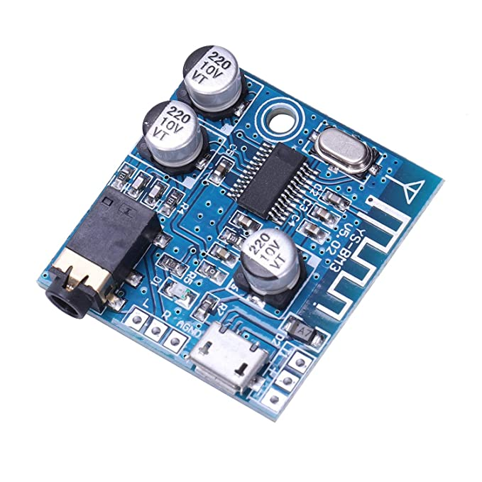 TOOGOO 4.1 Bluetooth Mp3 Lead Decoder Board Modul Verlustfreie Autolautsprecher Audio Leistungsverst?rker Verst?rker Modifikation DIY Audio Empf?nger Auto- & Fahrzeugelektronik