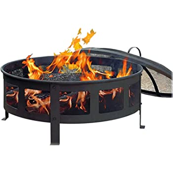 Amazon Com Cobraco Bravo Mesh Fire Pit Garden Amp Outdoor