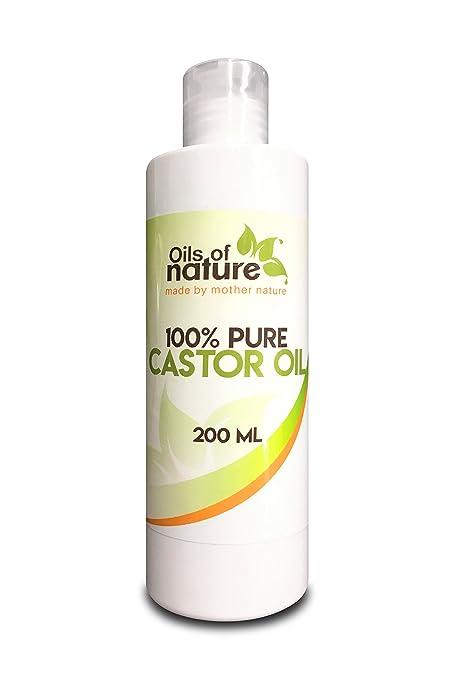 Aceite de ricino con presión en frío y sin hexano (200ml) – Para el
