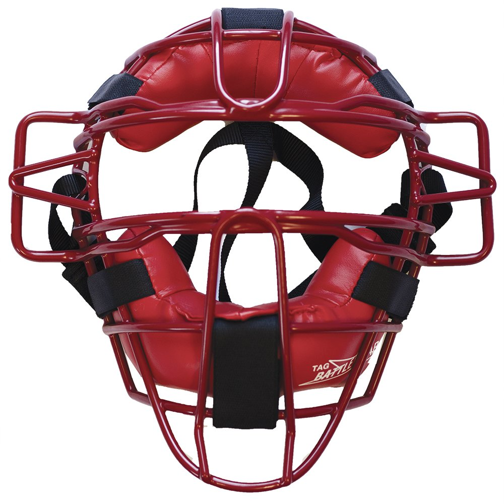 TAG Ultra Lightweight Catcher's Mask, Scarlet by TAG