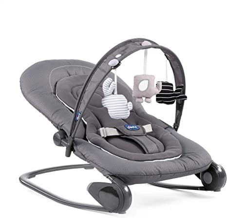 Chicco Hoopa Bouncer Moon, Gris, 3,53 kg: Amazon.es: Bebé