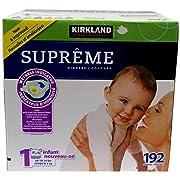 Kirkland Diapers-Size 1-192 Count