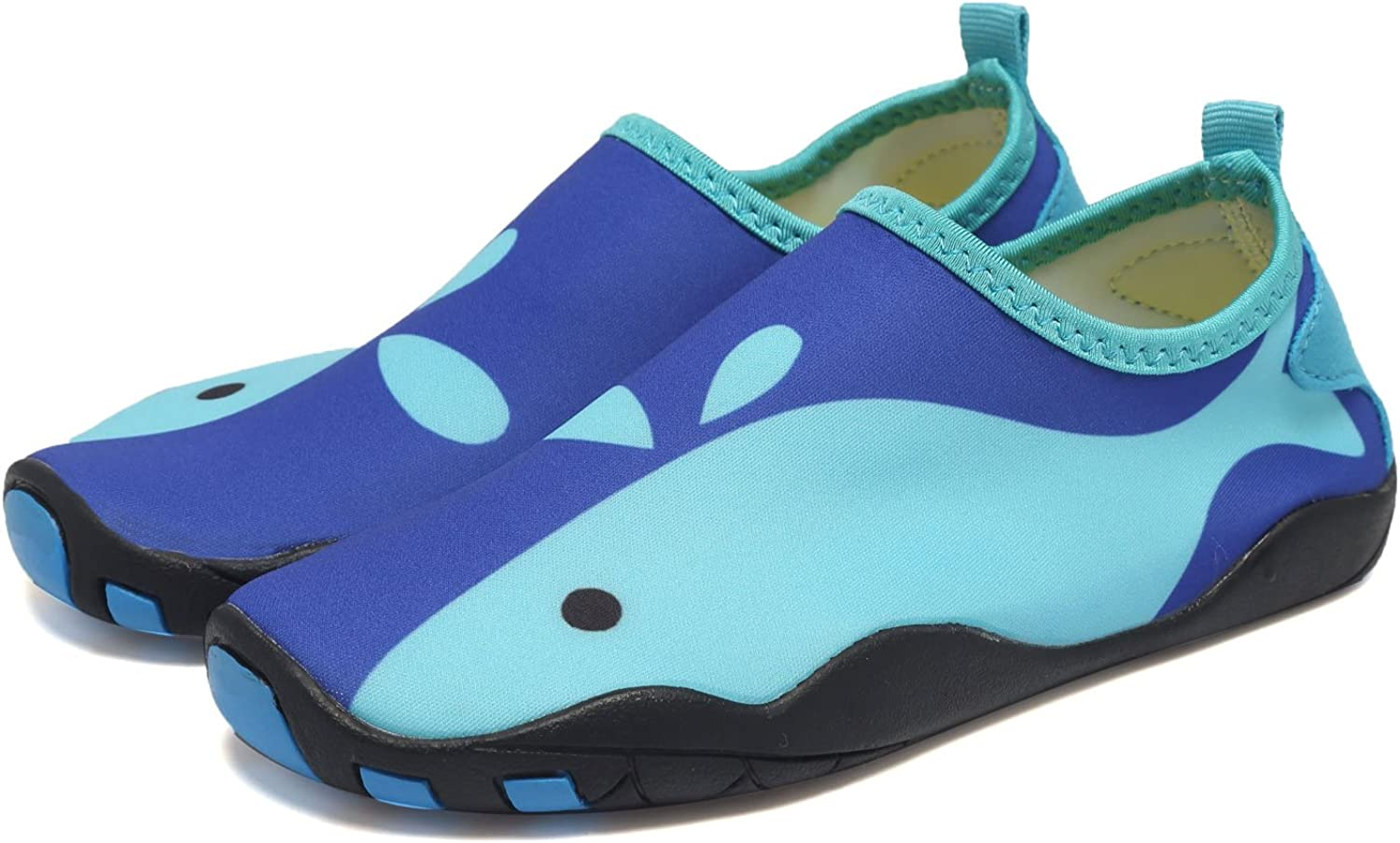 CIOR Kids Water Shoes Quick-Dry Boys and Girls Slip-on Aqua Beach Sneakers Toddler//Little Kid//Big Kid