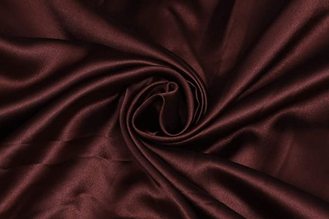 Decorations Event Decor Dark Red CHARMEUSE Stretch Satin Fabric By The Yard Stretch CHARMEUSE Satin For Dresses Craft Project Garments