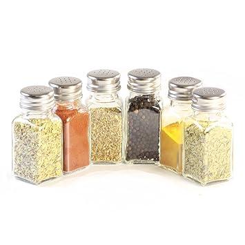 Gewürzgläser Leer gewürzgläser glas shaker x20 gewürzstreuer leer amazon de küche