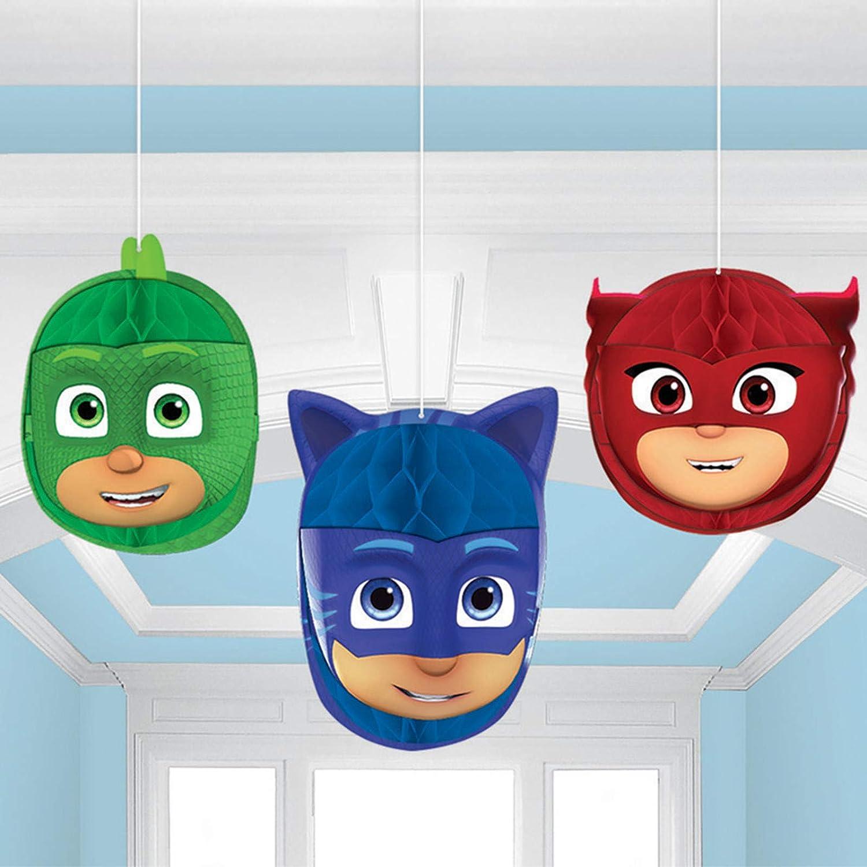 Amscan PJ Masks Honeycomb Balls 3 ct.