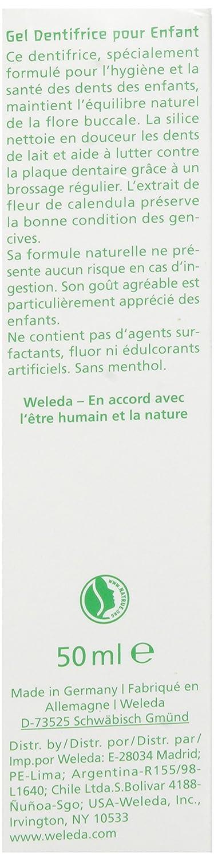 Weleda - pasta dental Gel - Children - 1. 7 Oz: Amazon.es: Salud y cuidado personal