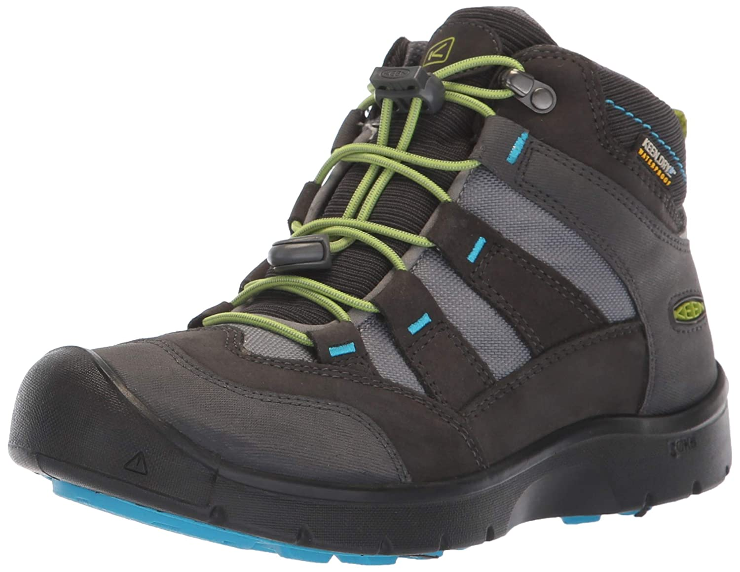 KEEN Hikesport Mid Waterproof Junior US Hiking Chaussure - SS18 US Junior 8 | EU 24|Magnet/Greenery db990c