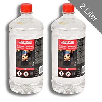 Favorit 2l HSM Bio Ethanol Bioethanol Bio Alkohol Ethanol Kamin TR77