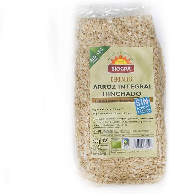 Biográ Arroz Integral Hinchado S/Azucar Y S/Miel 125G Bio ...
